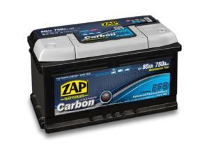 Akumulator ZAP Carbon 75Ah