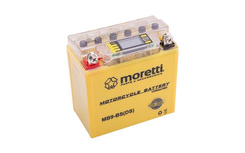 Akumulator moretti z wyświetlaczem lcd